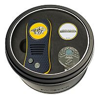 Team Golf Nashville Predators Switchfix Divot Tool, Cap Clip & Ball Marker Set