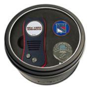 Team Golf New York Rangers Switchfix Divot Tool, Cap Clip & Ball Marker Set