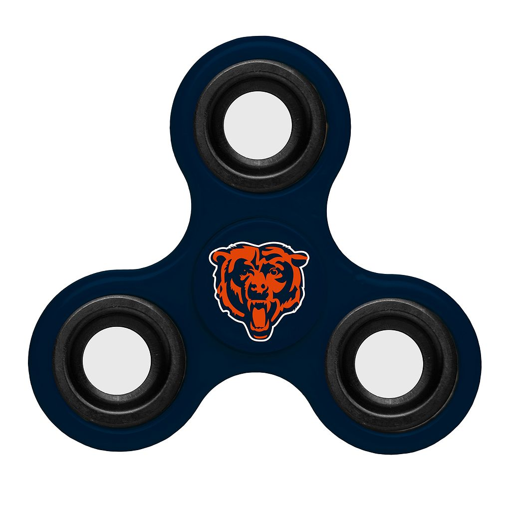 Chicago Bears Diztracto Three-Way Fidget Spinner Toy