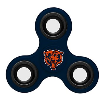 Chicago Bears Diztracto Three-Way Fidget Spinner Toy