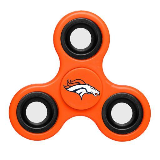 Denver Broncos Diztracto Three-Way Fidget Spinner Toy