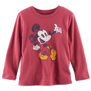 Disney's Mickey Mouse Toddler Boy Distressed Graphic Softest Tee by Jumping Beans®