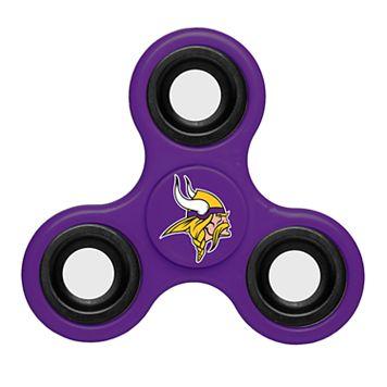 Minnesota Vikings Diztracto Three-Way Fidget Spinner Toy