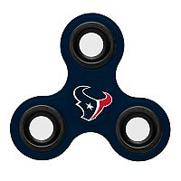 Houston Texans Diztracto Three-Way Fidget Spinner Toy