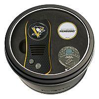 Team Golf Pittsburgh Penguins Switchfix Divot Tool, Cap Clip & Ball Marker Set