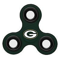 Green Bay Packers Diztracto Three-Way Fidget Spinner Toy