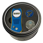 Team Golf St. Louis Blues Switchfix Divot Tool, Cap Clip & Ball Marker Set
