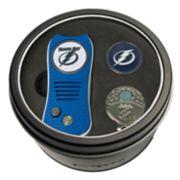 Team Golf Tampa Bay Lightning Switchfix Divot Tool, Cap Clip & Ball Marker Set