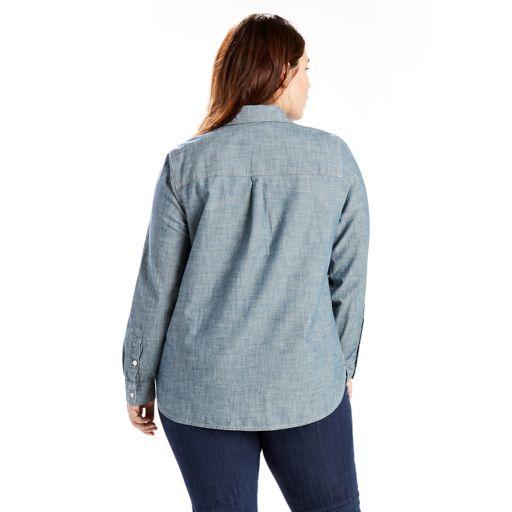 Plus Size Levi's Boyfriend Shirt