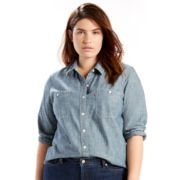 Plus Size Levi's Boyfriend Shirt