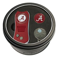 Team Golf Alabama Crimson Tide Switchfix Divot Tool, Cap Clip & Ball Marker Set