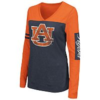 Women's Campus Heritage Auburn Tigers Distressed Graphic Tee