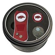 Team Golf Arkansas Razorbacks Switchfix Divot Tool, Cap Clip & Ball Marker Set