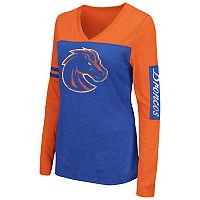 Women's Campus Heritage Boise State Broncos Distressed Graphic Tee