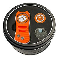 Team Golf Clemson Tigers Switchfix Divot Tool, Cap Clip & Ball Marker Set