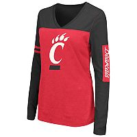 Women's Campus Heritage Cincinnati Bearcats Distressed Graphic Tee