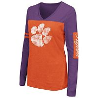 Women's Campus Heritage Clemson Tigers Distressed Graphic Tee