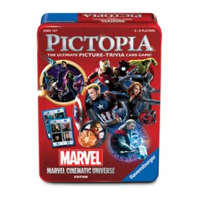 Marvel Pictopia Card Game Tin by Wonder Forge