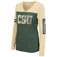 Women's Campus Heritage Colorado State Rams Distressed Graphic Tee