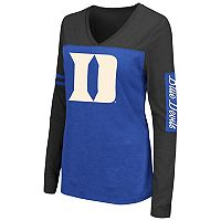 Women's Campus Heritage Duke Blue Devils Distressed Graphic Tee