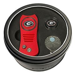 Team Golf Georgia Bulldogs Switchfix Divot Tool, Cap Clip & Ball Marker Set