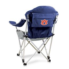 Picnic Time Auburn Tigers Reclining Camp Chair