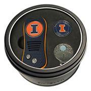 Team Golf Illinois Fighting Illini Switchfix Divot Tool, Cap Clip & Ball Marker Set