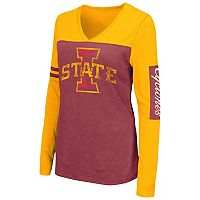 Women's Campus Heritage Iowa State Cyclones Distressed Graphic Tee