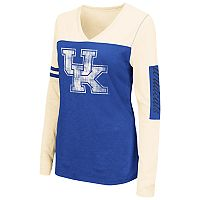 Women's Campus Heritage Kentucky Wildcats Distressed Graphic Tee
