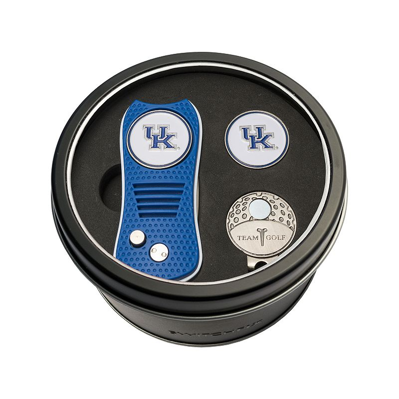 Team Golf Kentucky Wildcats Switchfix Divot Tool. Cap Clip & Ball Marker Set. Multicolor