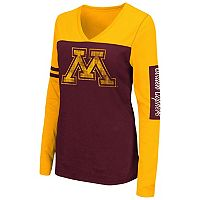 Women's Campus Heritage Minnesota Golden Gophers Distressed Graphic Tee