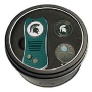 Team Golf Michigan State Spartans Switchfix Divot Tool, Cap Clip & Ball Marker Set