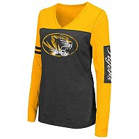 Women's Campus Heritage Missouri Tigers Distressed Graphic Tee