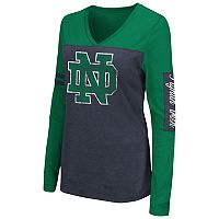 Women's Campus Heritage Notre Dame Fighting Irish Distressed Graphic Tee