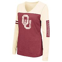 Women's Campus Heritage Oklahoma Sooners Distressed Graphic Tee