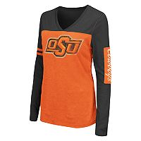 Women's Campus Heritage Oklahoma State Cowboys Distressed Graphic Tee