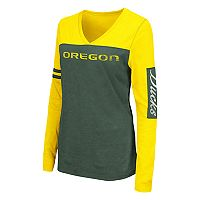 Women's Campus Heritage Oregon Ducks Distressed Graphic Tee