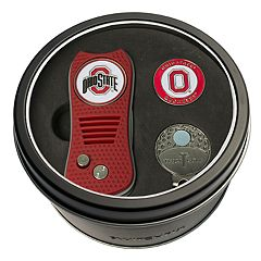 Team Golf Ohio State Buckeyes Switchfix Divot Tool, Cap Clip & Ball Marker Set