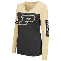 Women's Campus Heritage Purdue Boilermakers Distressed Graphic Tee