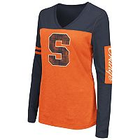 Women's Campus Heritage Syracuse Orange Distressed Graphic Tee