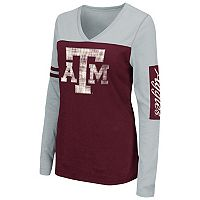 Women's Campus Heritage Texas A&M Aggies Distressed Graphic Tee