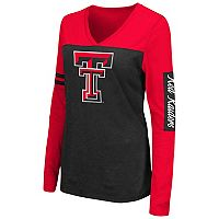 Women's Campus Heritage Texas Tech Red Raiders Distressed Graphic Tee