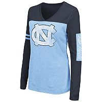 Women's Campus Heritage North Carolina Tar Heels Distressed Graphic Tee