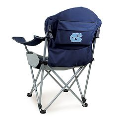 Picnic Time North Carolina Tar Heels Reclining Camp Chair