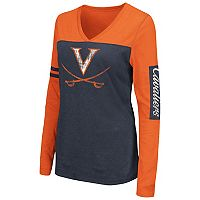 Women's Campus Heritage Virginia Cavaliers Distressed Graphic Tee