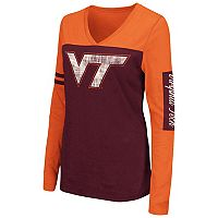 Women's Campus Heritage Virginia Tech Hokies Distressed Graphic Tee