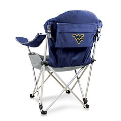 Picnic Time West Virginia Mountaineers Reclining Camp Chair