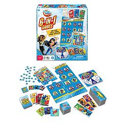 DC Super Hero Girls 6-in-1 Games by Wonder Forge