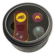 Team Golf Minnesota Golden Gophers Switchfix Divot Tool, Cap Clip & Ball Marker Set