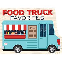 Publications International, Ltd. Food Truck Favorites Recipe Book